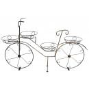 0727 Подставка велосипед на 4-цветка Н-60*84см.