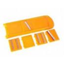Овощерезка оранжевая 5-ть.ножей