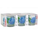 """Наб. стаканов """"Тюльпаны"""" 6шт. 146-Д"""