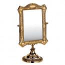 Зеркало серебро прямоуг.Ср. F-07